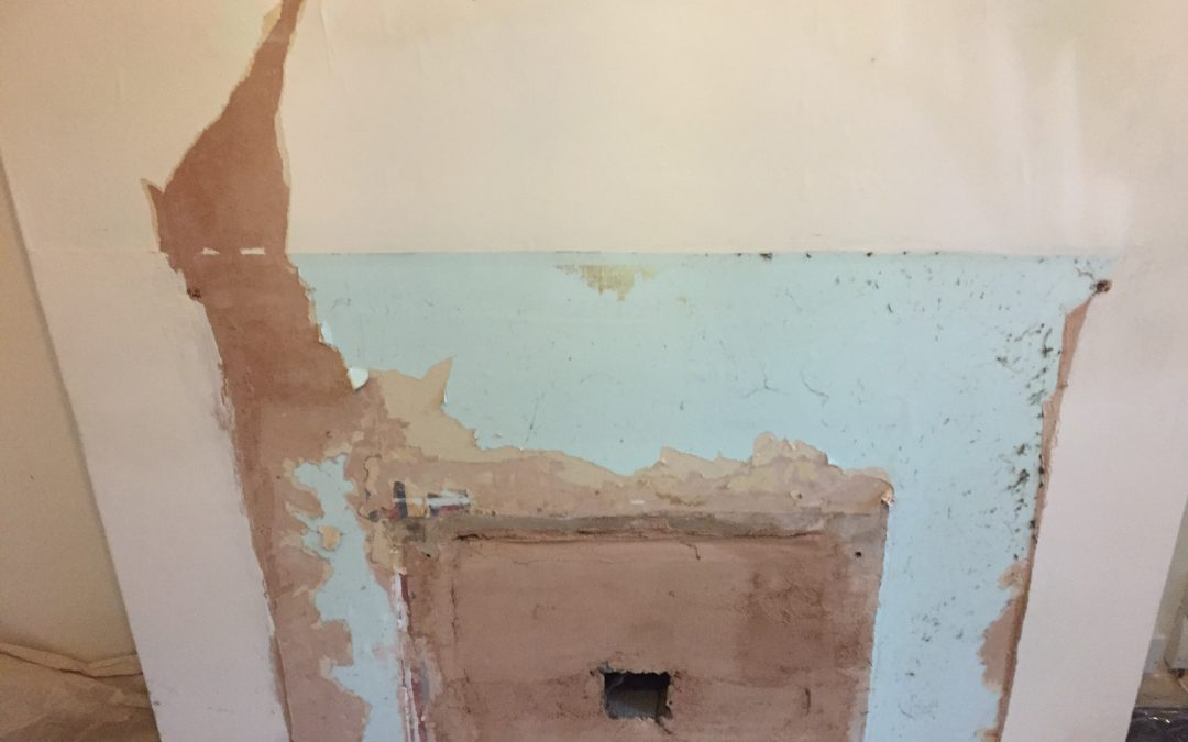 Damp on chimney breast